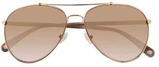 Amanda Wakeley The Soho Mineral Aviator Sunglasses