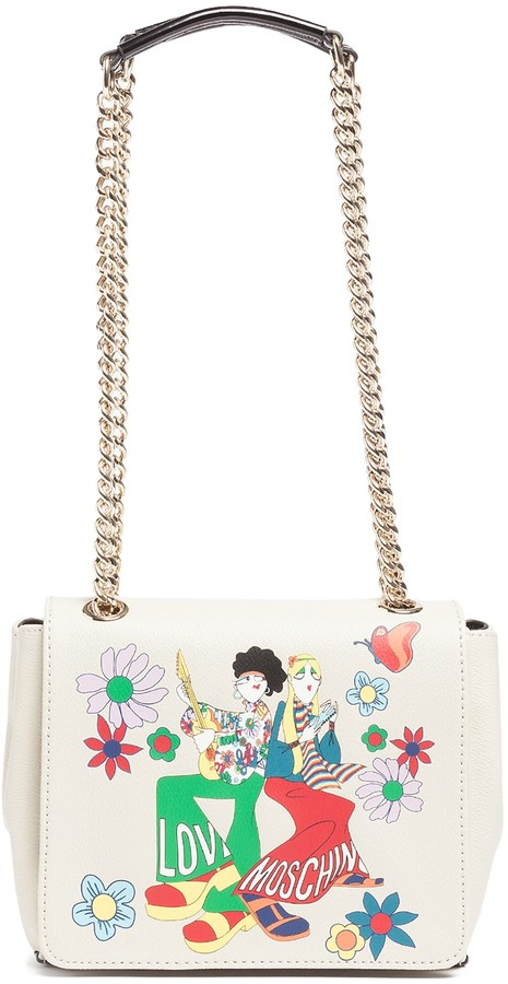 Love Moschino LOVE Moschino Printed Small Shoulder Bag