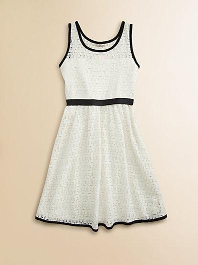 Sally Miller Girl's Crochet Dress