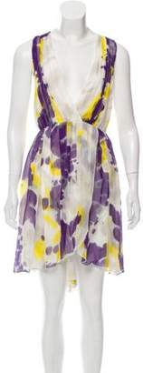 Alice + Olivia Connley Silk Dress w/ Tags