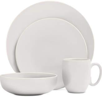 Vera Wang Wedgwood Vera Color White 16-Piece Dinnerware Set, Service for 4