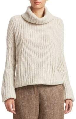 Loro Piana Davenport Cashmere Turtleneck Sweater