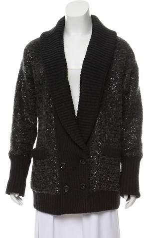 Diane von Furstenberg Zayde Sequined Jacket