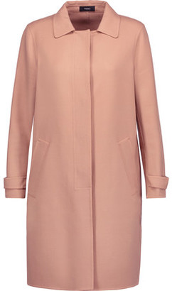 Theory Dafina Wool-Blend Coat $695 thestylecure.com