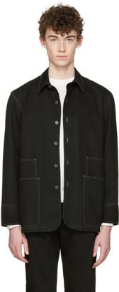 Lemaire Black Denim Jacket $775 thestylecure.com