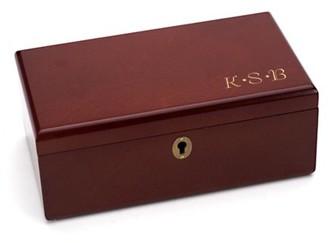 Keepsake Generic Monogram Engraved Wooden Valet Box