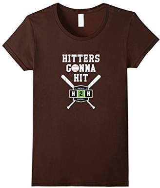 Hitters Gonna Hit in Fantasy Baseball T-Shirt