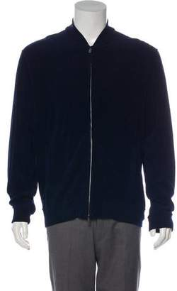Todd Snyder Terrycloth Warm-Up Jacket