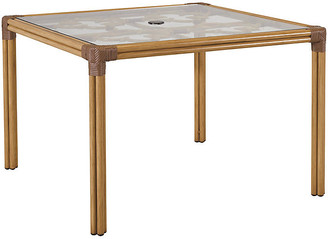 Lane Venture CELERIE KEMBLE FOR Mimi Square Dining Table - Natural/Cappuccino