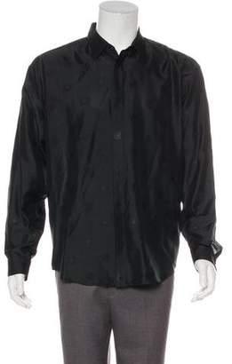 Gianni Versace Medusa-Embroidered Shirt
