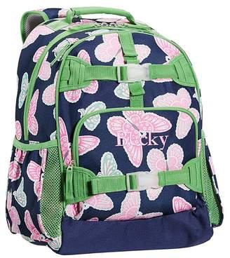 Pottery Barn Kids Large Backpack, Mackenzie Navy Butterfly