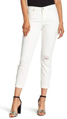 Nine West Gramery Skinny Ankle Cuffed Jeans