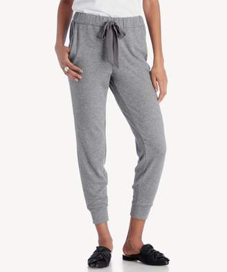 Sole Society Brushed Jersey Jogger w/ Satin Tie