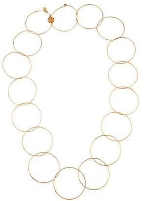 Stella McCartney Interlocking Circles Necklace