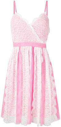 Pinko lace detail dress