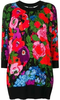 Twin-Set floral print sweatshirt
