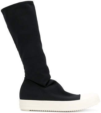 Rick Owens stocking sneak knee boots