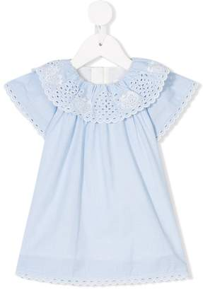 Chloé Kids broderie anglaise dress with diaper cover