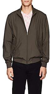 Herno MEN'S JERSEY-LINED BOMBER JACKET-OLIVE SIZE S