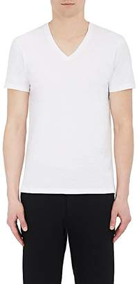 Barneys New York Men's Cotton V-Neck T-Shirt