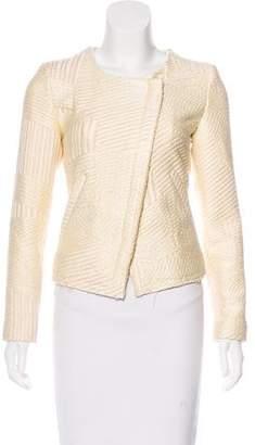 IRO Metallic Zip-Up Jacket