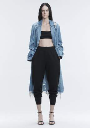 Alexander Wang BOILED WOOL SWEATPANTS