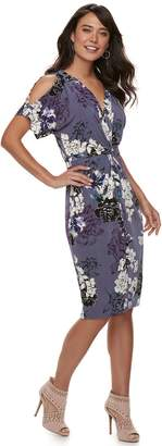 JLO by Jennifer Lopez Women's Kimono Midi Dress