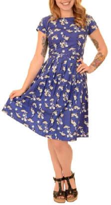 Pink Poodle Boutique Crane Skater Dress