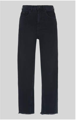 Whistles High Waist Barrel Leg Jean