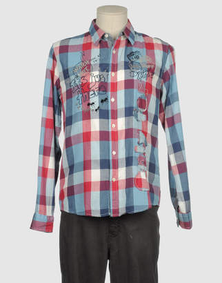 Desigual Long sleeve shirts - Item 38254247ML