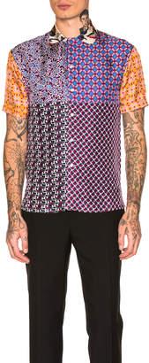 Pierre Louis Mascia Aloeuw Patchwork Shirt