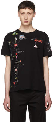 Valentino Black Video Game T-Shirt