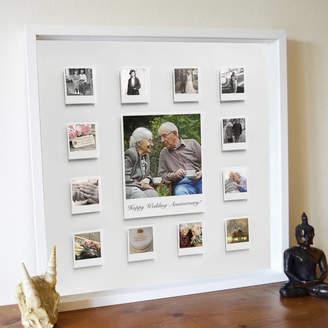 Instajunction Personalised Wedding Anniversary 3D Box Framed Print