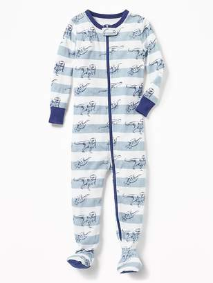 Old Navy Dinosaur-Print Footed Sleeper for Toddler Boys & Baby