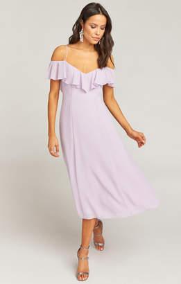 Show Me Your Mumu Camilla Dress ~ Violet Chiffon