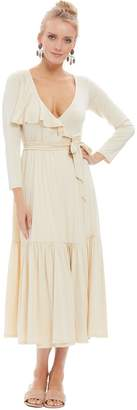 Rachel Pally Nadine Wrap Dress - Cream