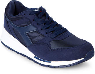 Diadora Navy Intrepid Nylon Jogger Sneakers
