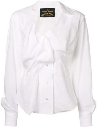 Vivienne Westwood deconstructed shirt blouse