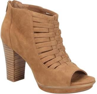 Sofft Leather Caged Platform Sandals - Renita