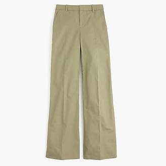 J.Crew Collection full-length pant in Italian cotton