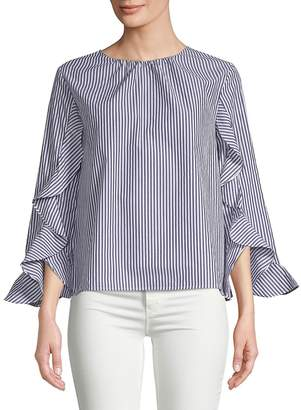 Collective Concepts Women's Ruffle Sleeve Top