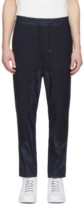 Diesel Black Gold Navy Panelled Drawstring Trousers