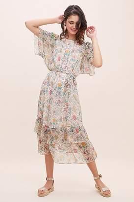 Sessun Fortunata Silk Tiered Dress