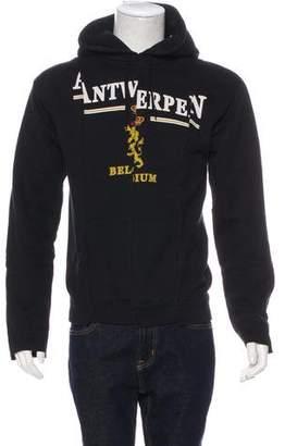 Vetements 'Antwerp' Fitted Cut Up Hoodie w/ Tags