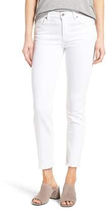 7 For All Mankind Roxanne Ankle Straight Leg Jeans