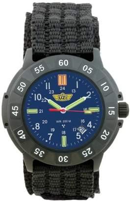 Uzi Men's UZI-004-N Protector Swiss Tritium Blue Dial Band Watch