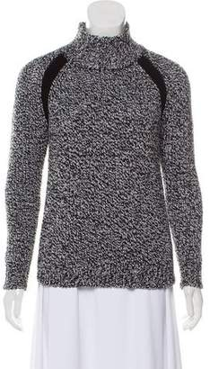 Theory Mock Neck Wool Sweater