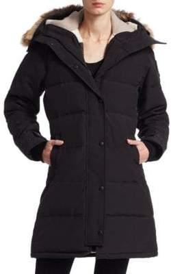 Canada Goose Shelburne Fur-Trim Parka Black Label