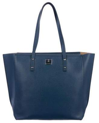 MCM Grained Leather Tote