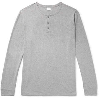 Onia Miles Cotton And Modal-Blend Jersey Henley T-Shirt